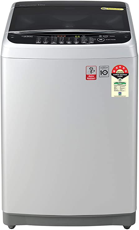 LG top loaded fully automatic 6.5 kg machine